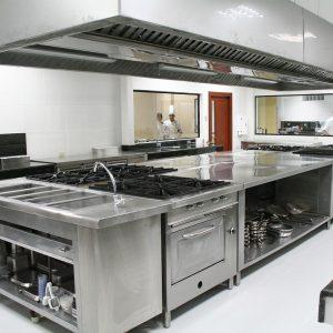 BARSKOREA Restaurant kitcheb interior