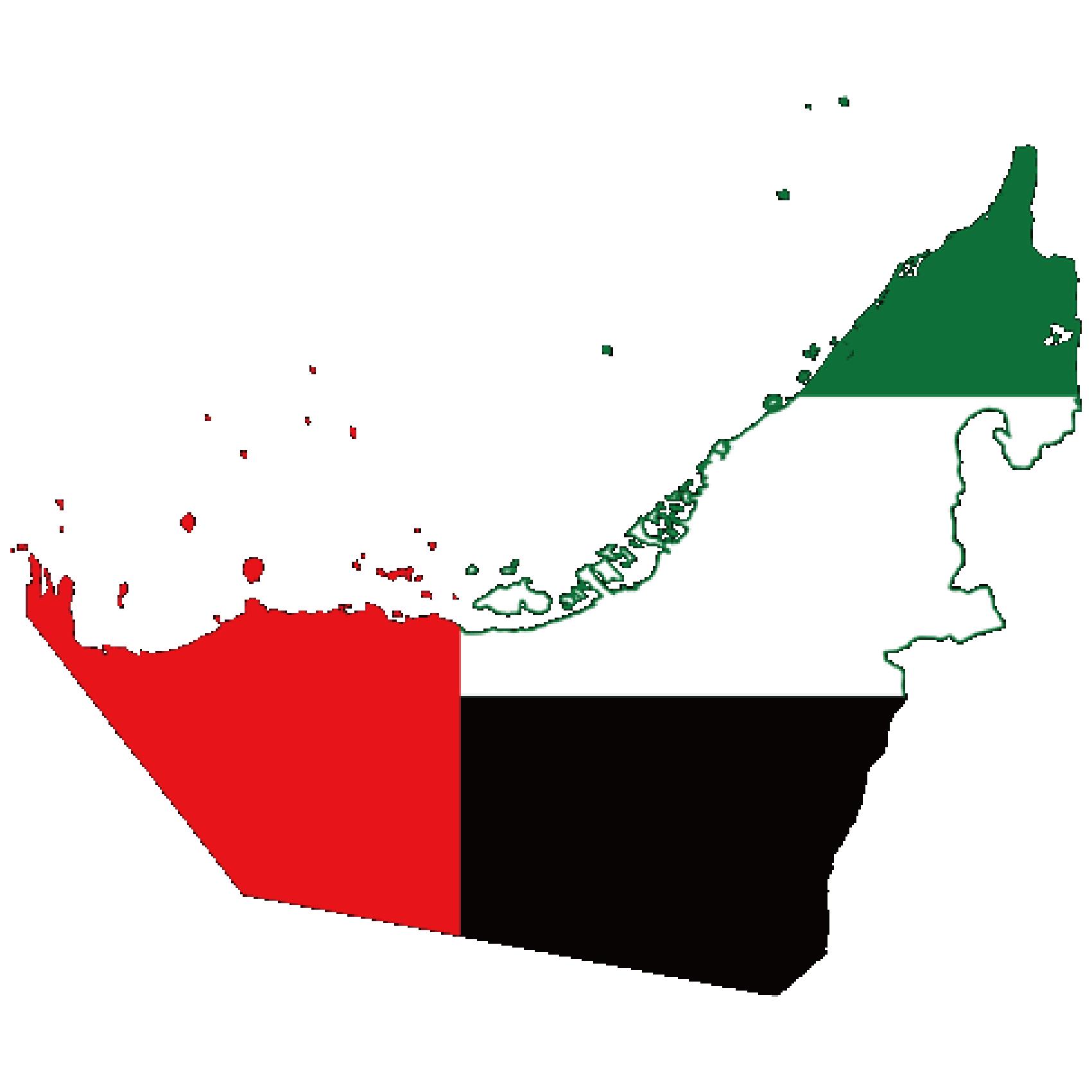 Flag of UAE, the partner of barskorea.
