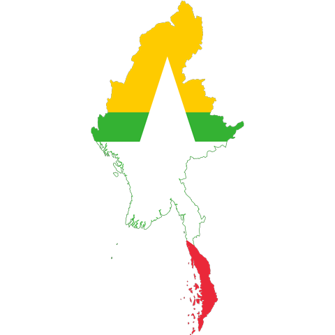 Flag of Myanmar, the partner of barskorea.