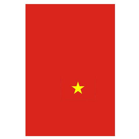 Flag of Vietnam, the partner of barskorea.